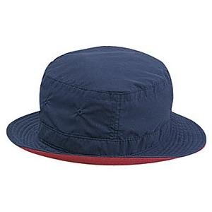 Otto Cap Polyester Microfiber Reversible Bucket Hat S/M - Navy/Red