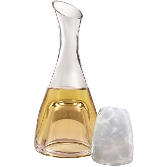 Vinotemp EP-DECAN001 Epicureanist Wine Chilling Decanter With Ice Cup