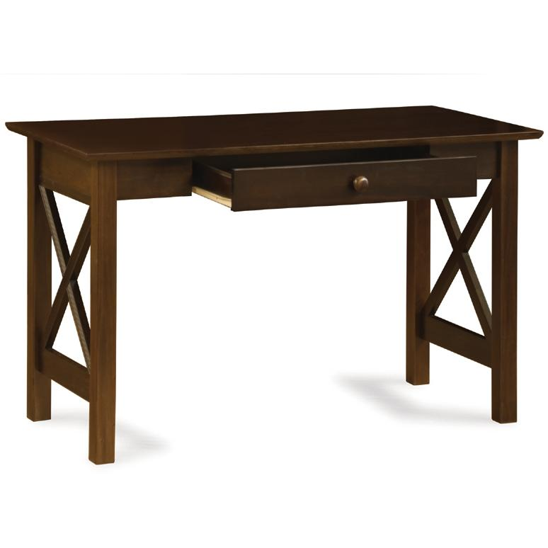 Atlantic Furniture 6082400 Lexington Writing Desk Antique Walnut