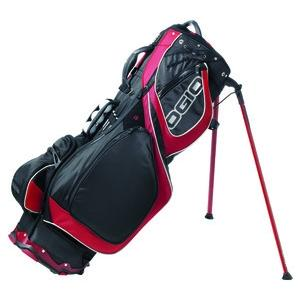 OGIO Grom II Stand Golf Bag - Red/Black