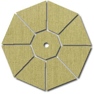 Galtech Sunbrella B Fabric - Heather Beige 2505339