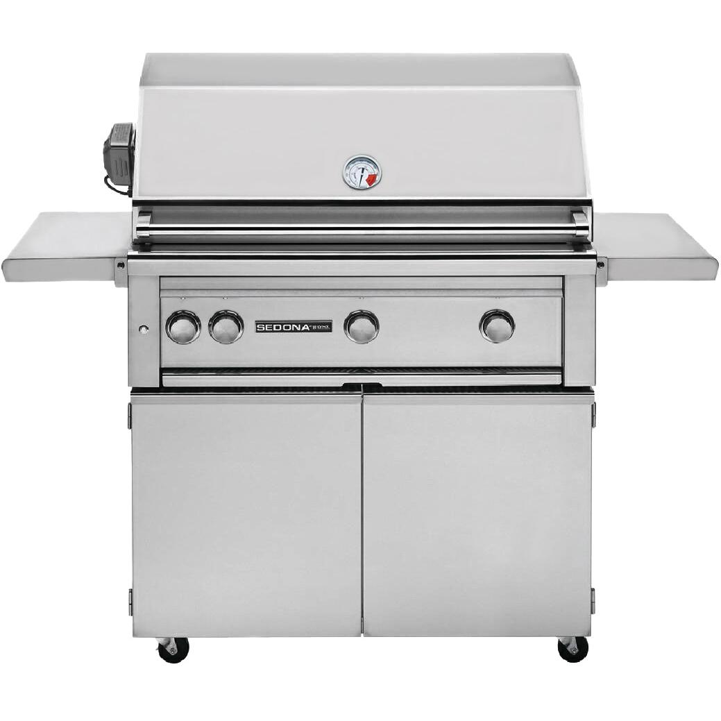 Sedona By Lynx 36-Inch Propane Gas Grill On Cart With ProSear Burner And Rotisserie L600PSR 2872254