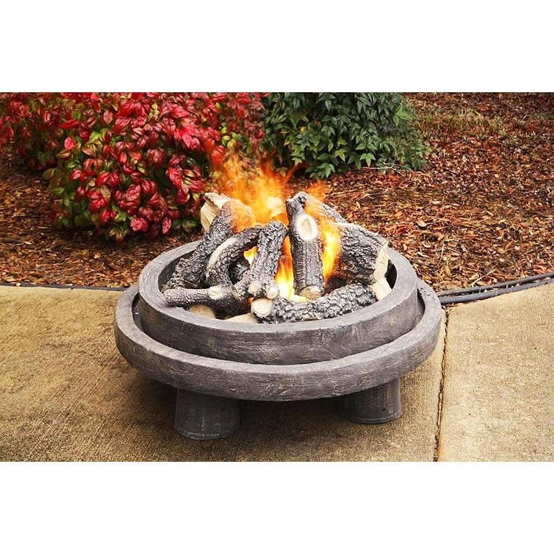 Firegear Phoenix 26-Inch Portable Outdoor Propane Gas Fire Pit