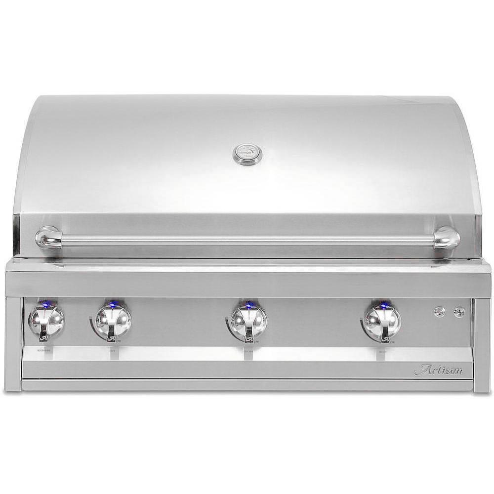 "Artisan Professional 36"" 3-burner Built-in Propane Gas Grill With Rotisserie - Artp-36-lp"