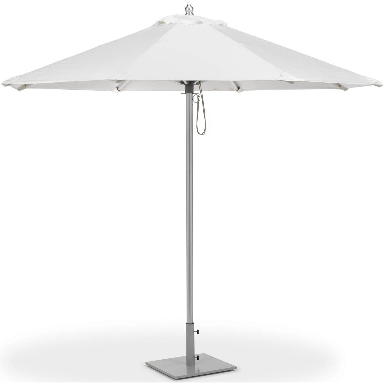 Oxford Garden 9 Ft. Octagon Aluminum Patio Market Umbrella With Pulley - Natural