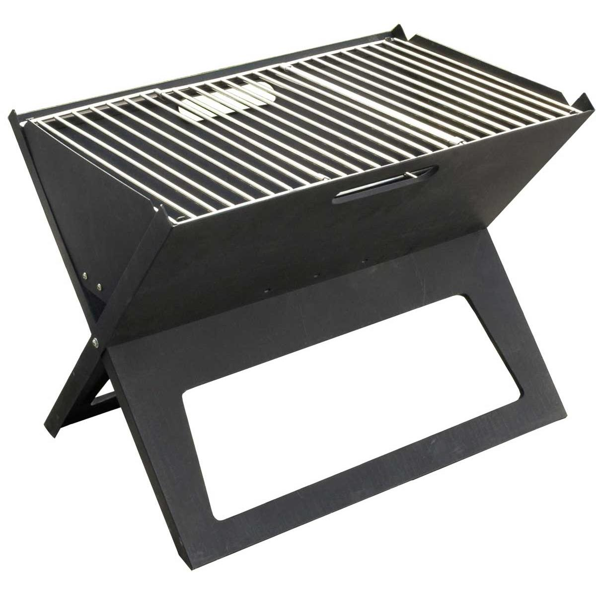 Fire Sense HotSpot Folding Notebook Portable Charcoal Grill