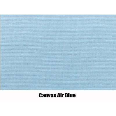 North Cape Canvas Air Blue Cushion - Montego