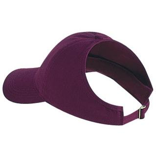 Otto Cap Brushed Cotton Twill Low Profile Pro-Style Ponytail Cap - Maroon