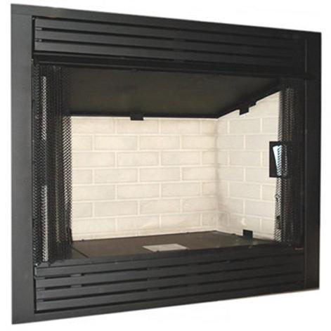 Monessen GCUF32C-R 32-Inch Louvered Circulating Vent-Free Firebox With Refractory Firebrick