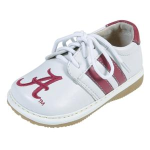 Squeak Me Shoes Boys Collegiate Toddler Shoe Size 3 - Alabama