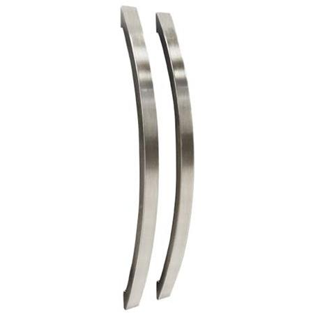 Vinotemp VT-36HANDLE Two Curved Door Handle Replacements For VT-36 - Stainless Steel