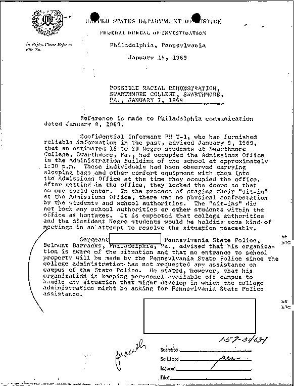 [FBI file on Marilyn Allman (Maye)]