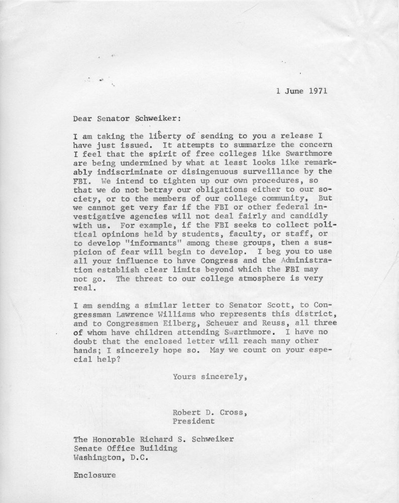 Letter to Sen. Schweiker, 1 June 1971.jpg