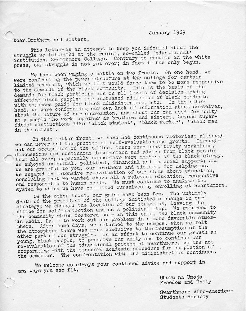 Letter- SASS January 1969.jpg