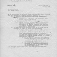 Letter- SASS to Cross re Black Studies, March 15, 1970.jpg