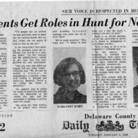 Delaware County Daily Times, _Students Get Roles in Hunt for New College President_.pdf