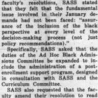_SASS Criticizes Faculty For Avoiding Basic Issue of Blacks' Participation_ March_7_1969.jpg