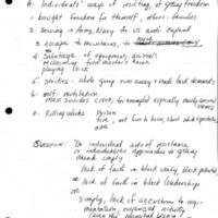 [Slavery summary notes]