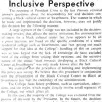 Inclusive Perspective