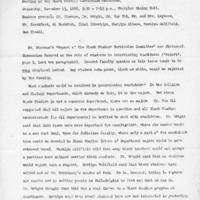 [Minutes of the Black Studies Curriculum Committee 11/13/1968]