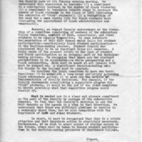 [Student Council statement, 01/08/1969]