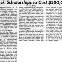 _Black Scholarships to Cost $500,000_ February_25_1969.jpg