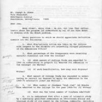 [Letter from Raymond Denworth to Joseph Shane, 09/26/1969]