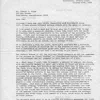 [Letter from Gertrude Knapp Stoughton '24 to Joseph Shane, 01/17/1969]