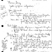 [Class notes, 03/19/1969]