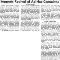 Council Endorses Black Studies Major, Supports Revival of Ad Hoc Committee February_29_1972.jpg