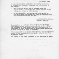 [SASS statement 01/11/1969]