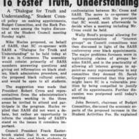 SASS Sponsors Morning Meeting To Foster Truth, Understanding March_10_1970.jpg