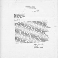 [Letter from Robert Cross to the New York Times, 06/02/1971]