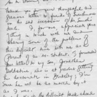 [Letter from Bel Kaufman to Robert Browning and Edward Cratsley, 02/03/1969]