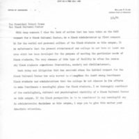 [Letter from William Cline to Robert Cross 03/04/1970]