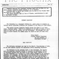 The Phoenix Supplement: January 17, 1969