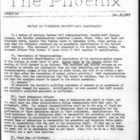 The Phoenix Supplement: January 16, 1969
