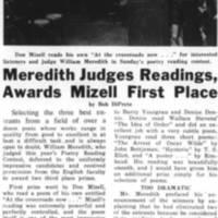Meredith Judges Readings, Awards Mizell First Place November_25_1969.jpg