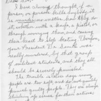 [Letter from Joanne Smith to Joseph Shane, 01/17/1969]