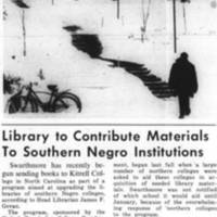 _Library to Contribute Materials to Southern Negro Instituitions_ March_4_1969.jpg