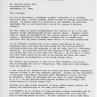 [Letter from David Ullman to Courtney Smith, 01/14/1969]