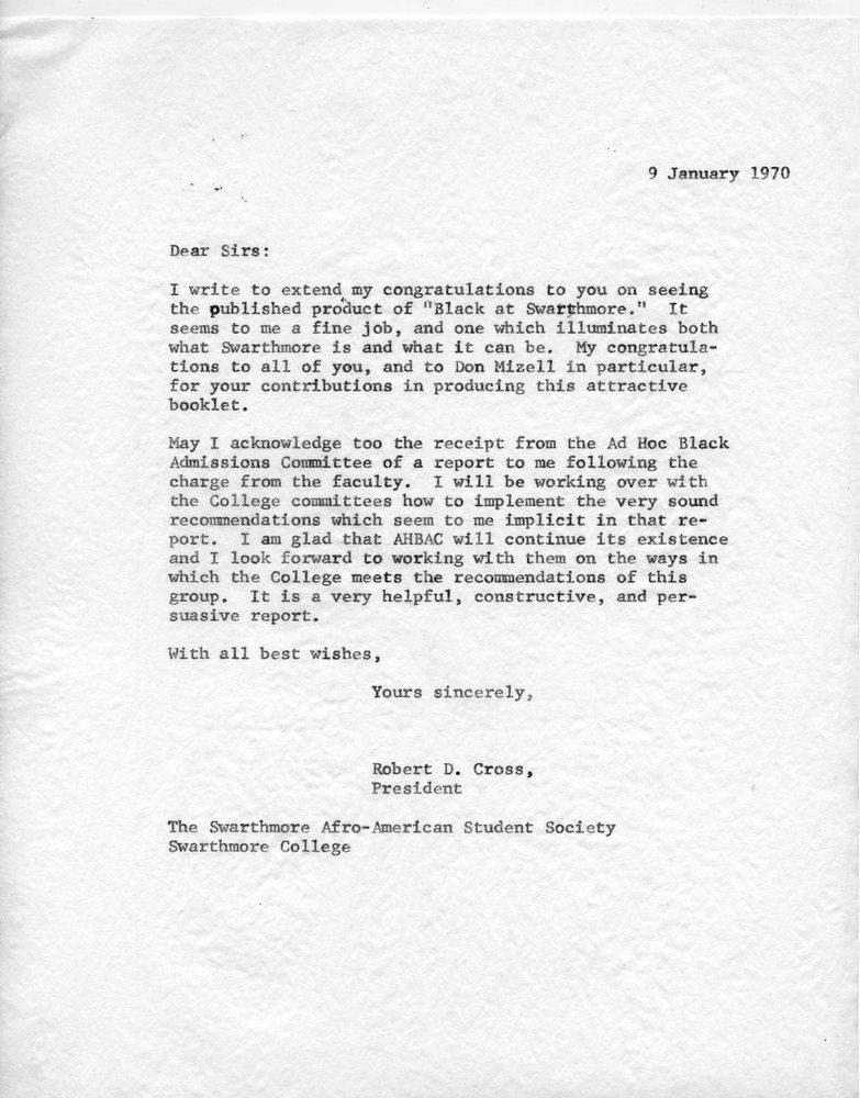 Letter- Cross to SASS, 9 January 1970.jpg