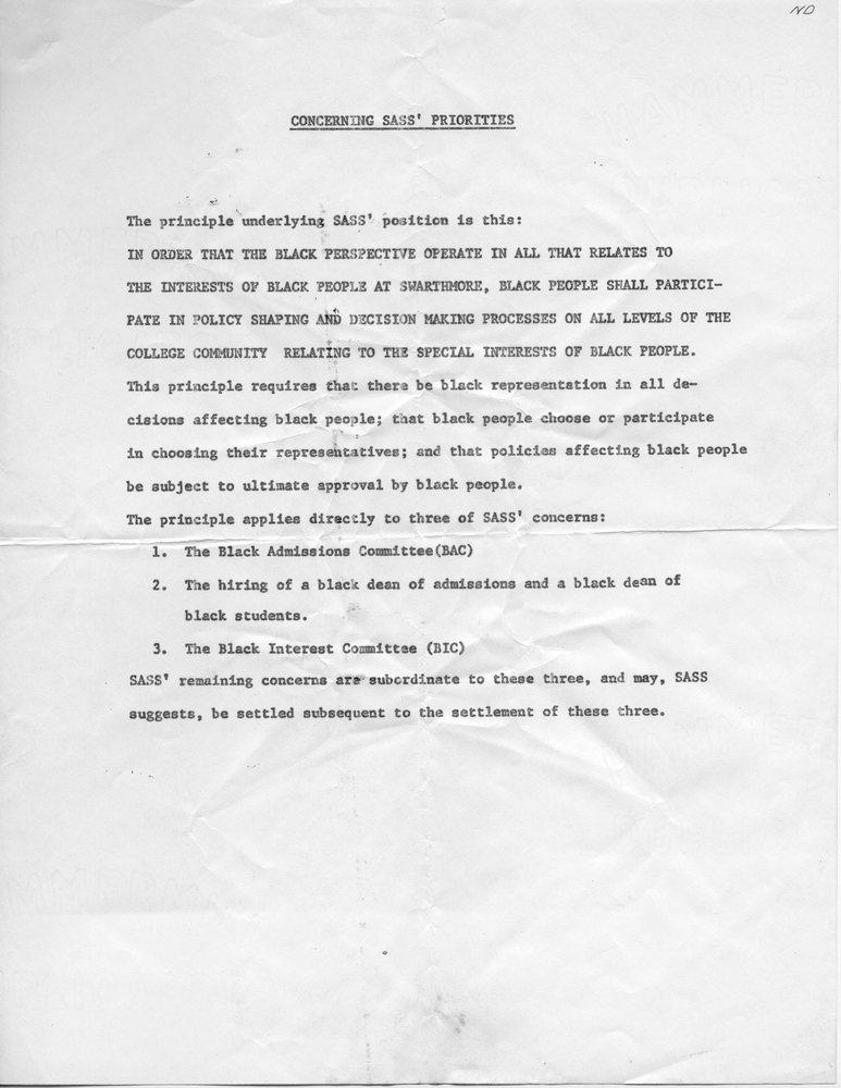 Concerning SASS' Priorities [29 Jan 1969].jpg