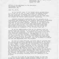 Letter regarding hiring program director, John Morrow et al, 8-16-68.pdf
