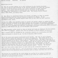 [Faculty resolutions 01/11/1969]