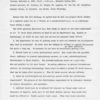 Minutes of the Black Curriculum Committee 11/05/1968