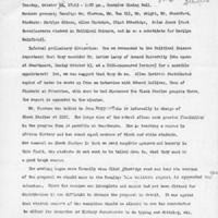 [Minutes of the Black Studies Curriculum Committee 10/22/1968]