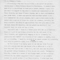 [Letter (draft) from Robert Cross to SASS 03/13/1970]