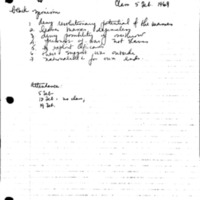 [Class notes, 02/05/1969]