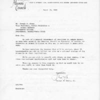 [American Alumni Council Survey on Campus Unrest, 03/10/1969]